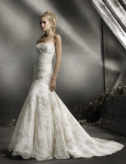 Lazaro Wedding Gowns