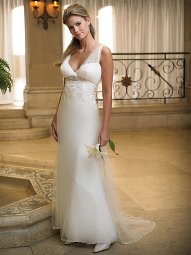 Beach Gown Style Wedding
