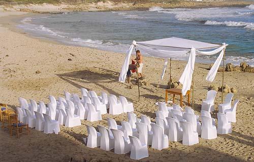 ARCH ALTERNATIVE For Beach Wedding...ideas?