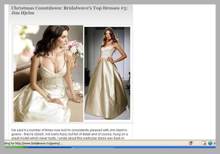 bridalwave.tv top 10 wedding sites