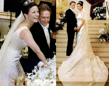 catherine zeta jones wedding