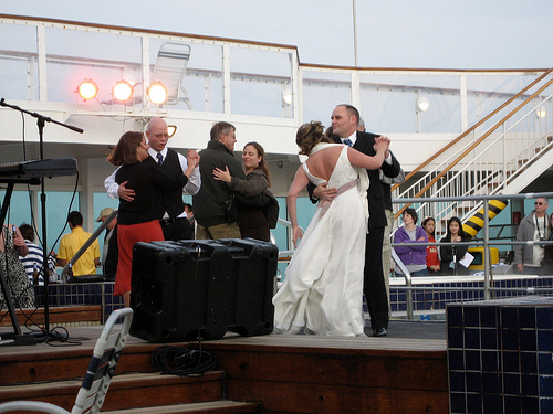 cruise ship wedding