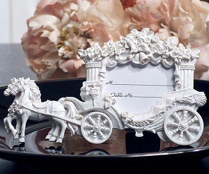 fairy tale wedding theme table place card holders