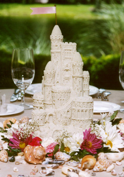fairy tale wedding theme table centrepiece