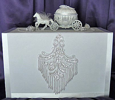 fairy tale wedding theme wedding card box