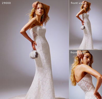 gown mermaid wedding