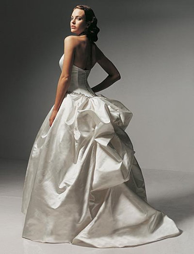 gown vera wang wedding