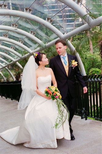 hong kong wedding gown