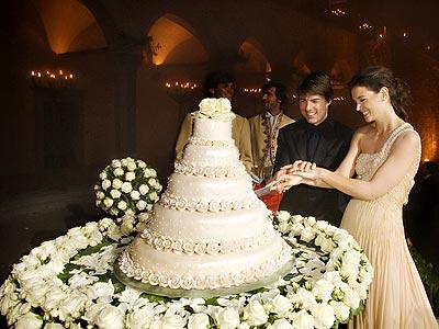 katie holmes wedding:
