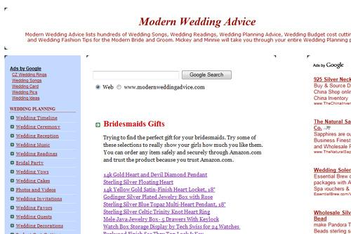 ModernWeddingAdvice.com