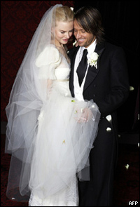 nicole kidman wedding dress