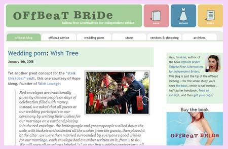 OffBeatBride.com top 10 wedding sites