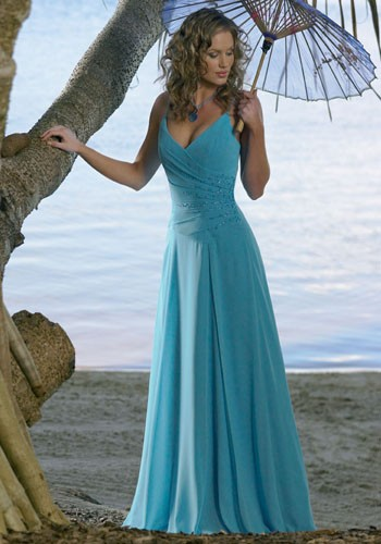 Designer Blue Wedding Dresses
