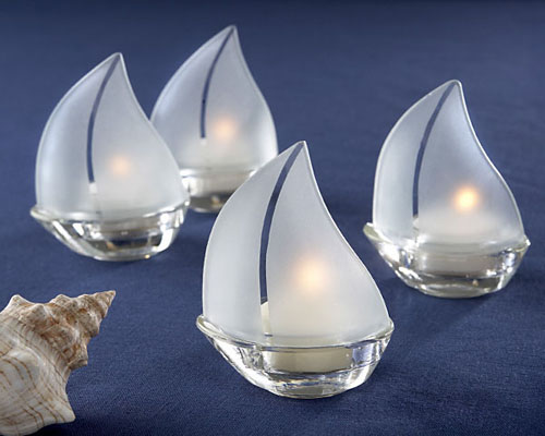 27 stunning wedding favors wedding planning blog about wedding planning help how to plan a - Sailboat tealight holders ...