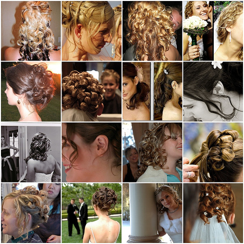 Raise The Curtain For … 47 Sweet Bridal Hairstyles