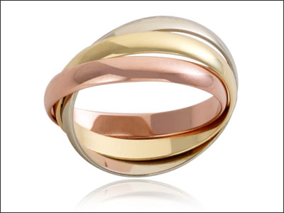 3 Wedding Ring, golds