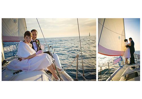 Boat Wedding Wedding Sail Boat